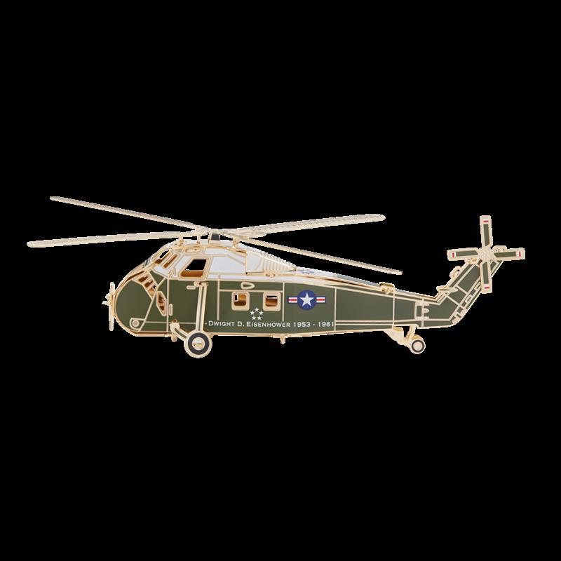 White House 2019 Helicopter Christmas Ornament,001500